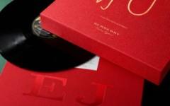 vinili dischi in vinile burberry cofanetto elton john