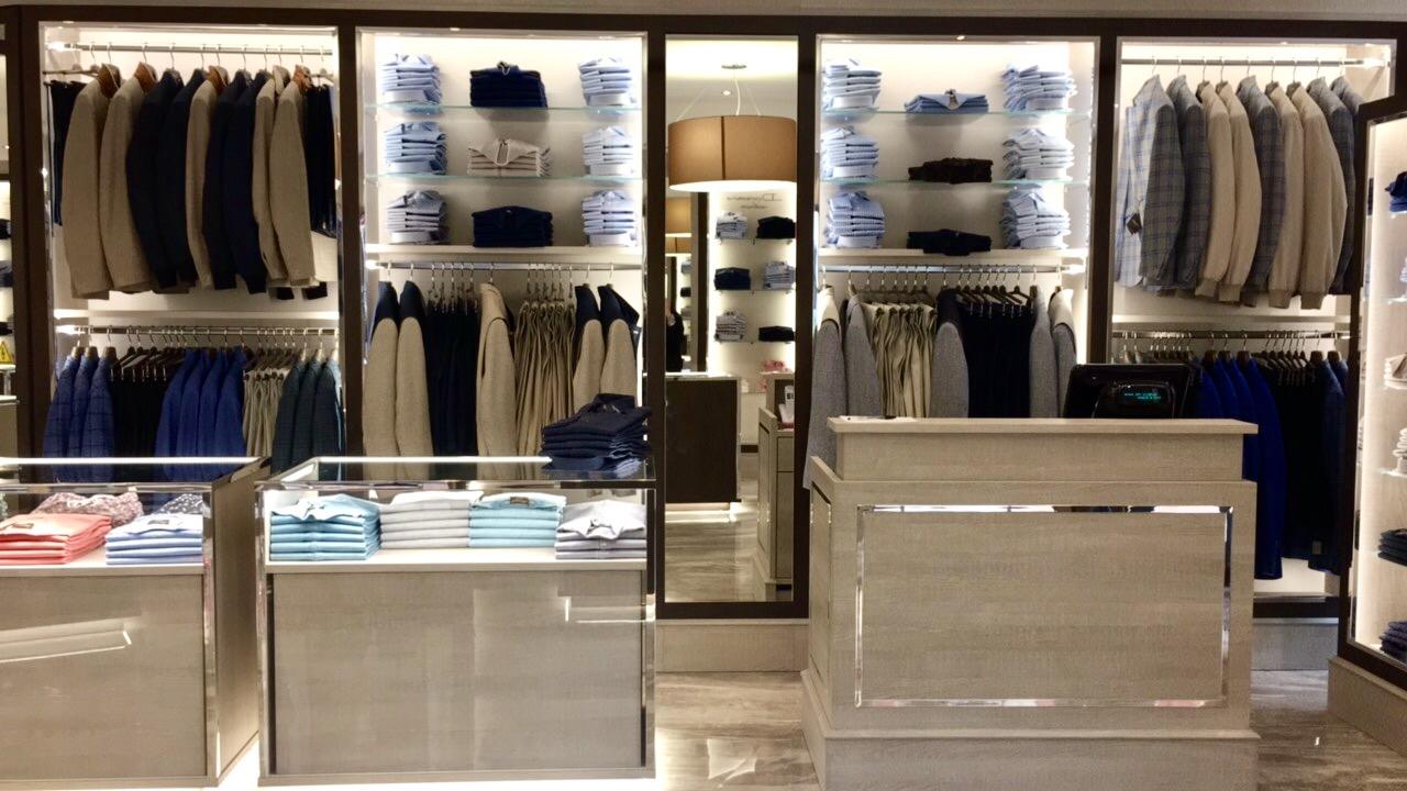 Nuova boutique Doriani Cashmere - Monte Carlo