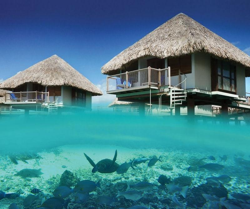 Bungalow a Le Meridian Bora Bora