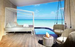 Palladium Group Hotels, la terrazza di una suite al TRS Coral Hotel in Costa Mujeres