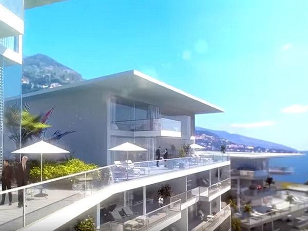 A Monaco, l'area della futura estensione di Portier Cove