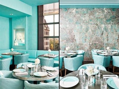 Tiffany - The Blue Box Café