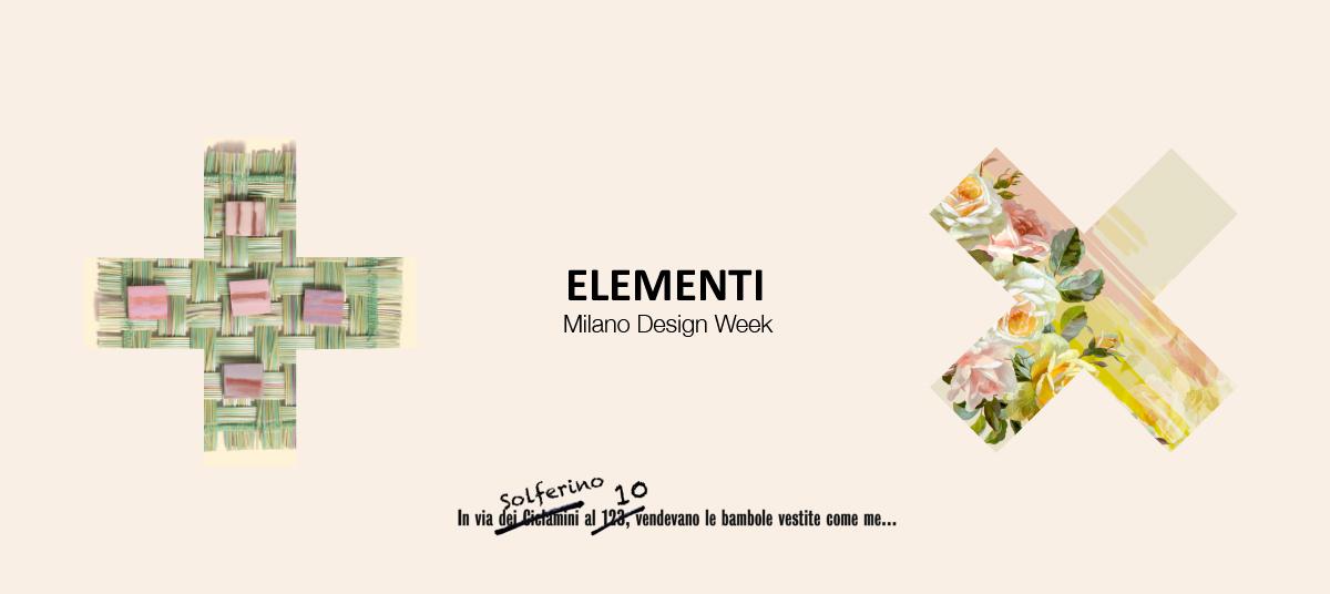 ELEMENTI - La Tenda - Antonio Marras - Paola Lenti