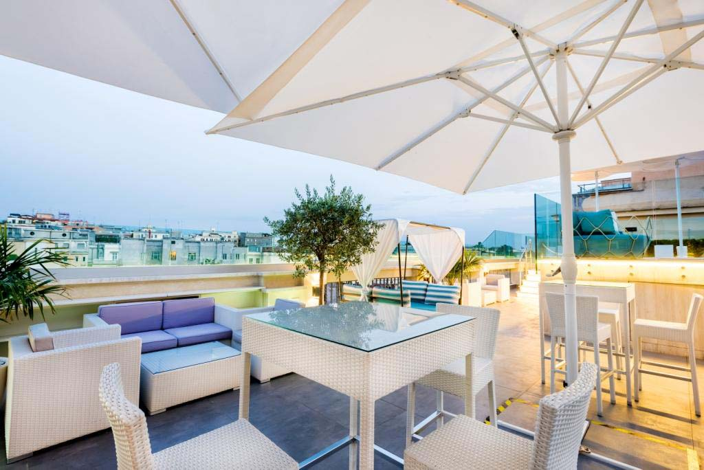 La Sky Blu Terrace Dell Aleph Rome Hotel