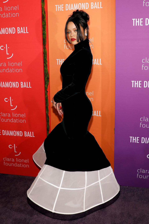 Rihanna in Givenchy Haute CoutureAutunno/Inverno 2019