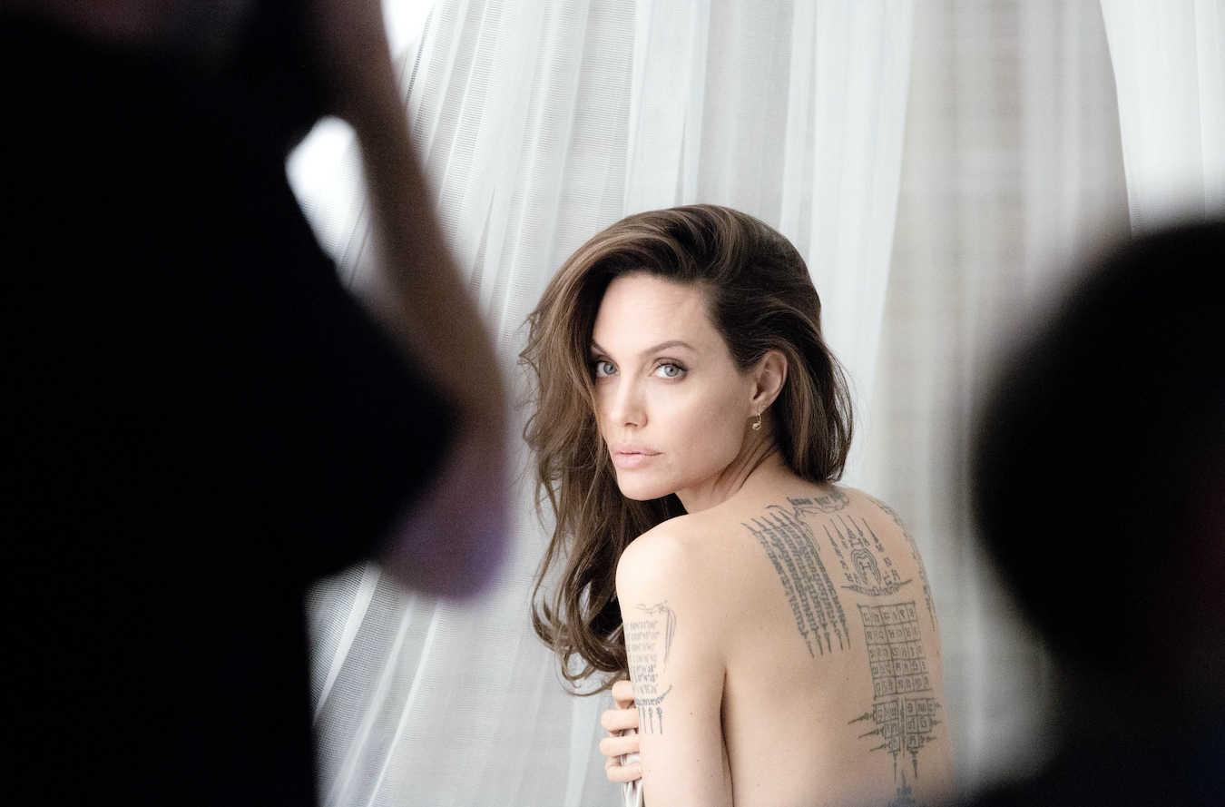 Angelina Jolie x Mon Guerlain Eau de Parfum Intense